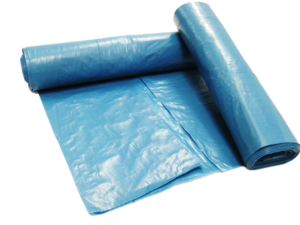 Mülltüte blau verbrauchsmaterial